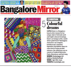 Bangalore Mirror Listing April 2016