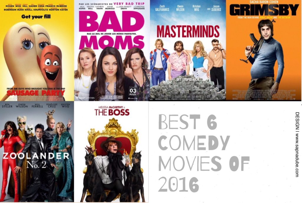 Best Comedy Movies of 2016