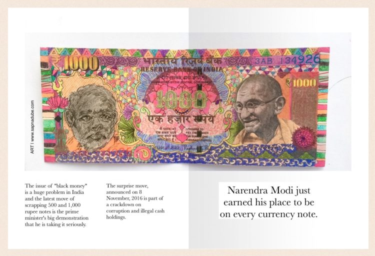 Narendra Modi scraps 500 and 1000 rupee notes