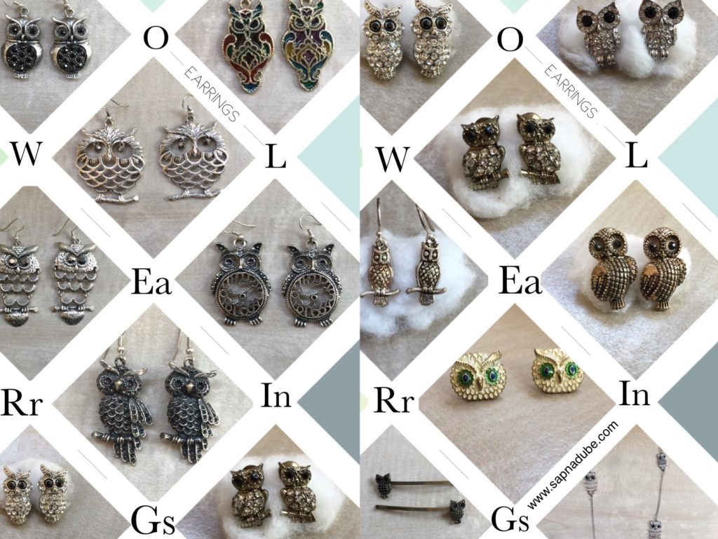 Owl symbolism, owl collection, owl collector, ULUKA, ULOOKA, Lakshmi's owl,