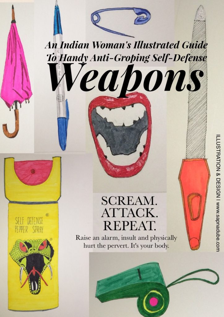 Women's weapons of self defense