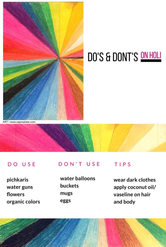Dos donts on holi the celebration of colours home an eco friendly holi fandeluxe Image collections