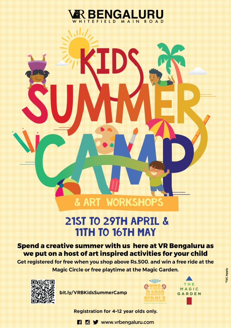 Invitation To Summer Camp 2018 at VR Bengaluru – HOME