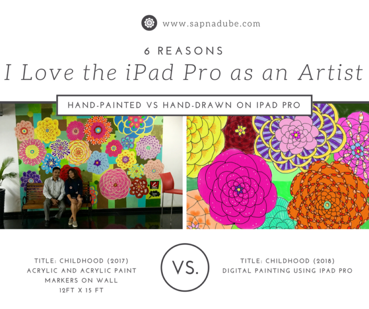 6 Reasons I Love the iPad Pro as an Artist – HOME
