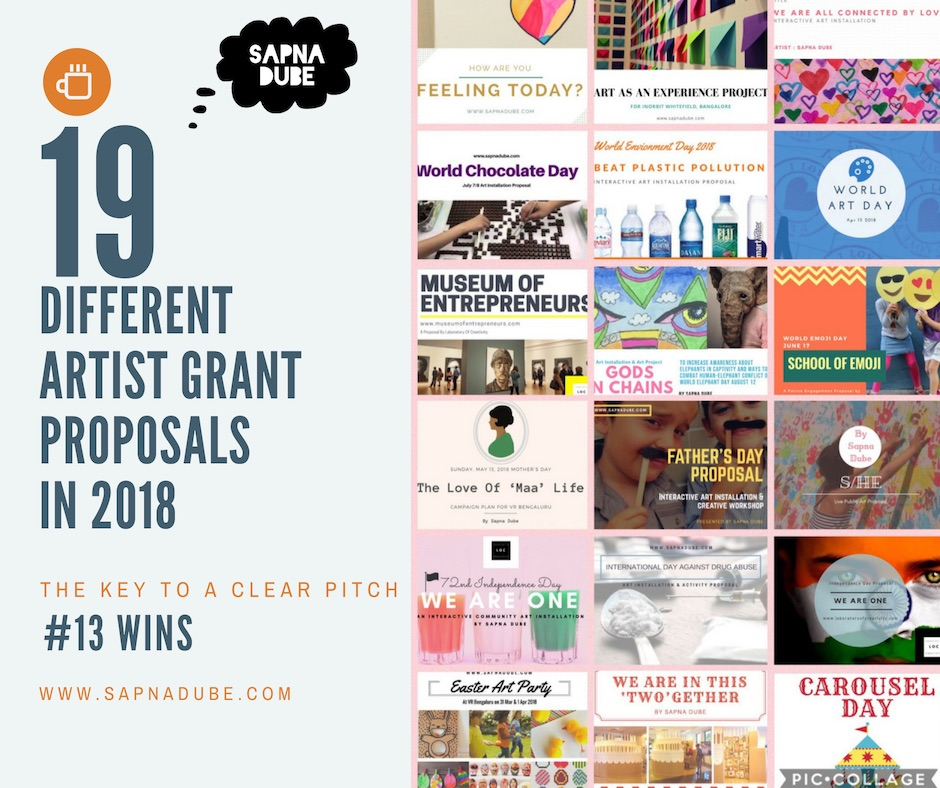 How To Write A Winning Artist Grant Proposal in 7 Easy Steps